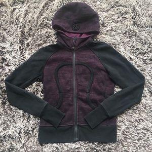 Lululemon scuba hoodie sweatshirt top purple 6 S